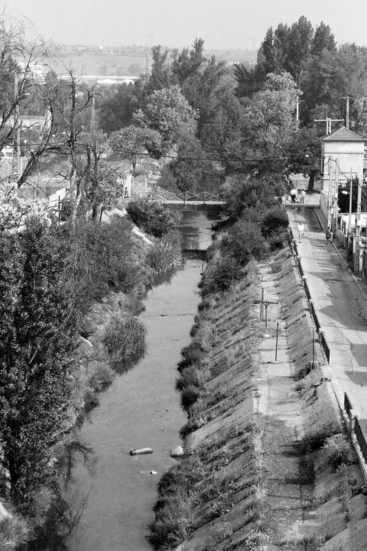 Río Esgueva (1989). ©Archivo Luis Laforga
