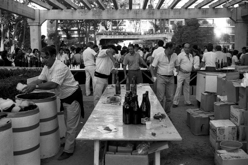Fiestas de Poniente. Año 1984. ©Archivo Luis Laforga